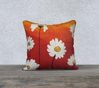 Aperçu de Daisy Sunset Pillow