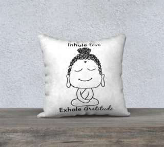 Buddha Gratitude Pillow preview