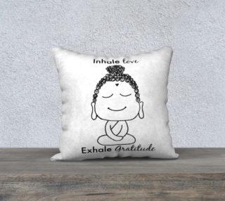 Aperçu de Buddha Gratitude Pillow