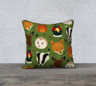 British Woodlands Cushion preview
