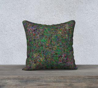 Multi Coloured Klimt Like Mosaic Square Tile preview