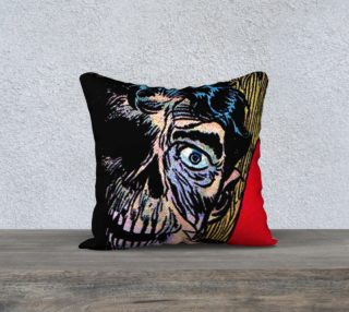 Aperçu de WC01 Horror Pillow 06 (18x18)
