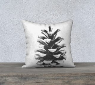 Black and White Pinecone preview