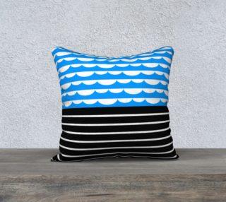 valovi pillow - 18 x18 preview