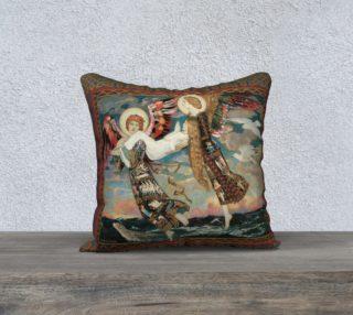 "Aperçu de St. Bride - 18"" x 18"" Pillow"