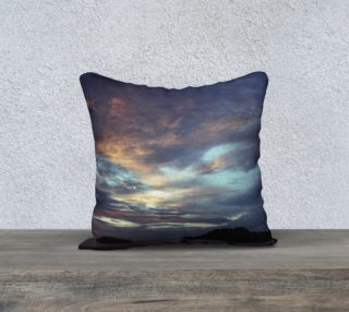 Ocean Sunset Pillow Cover preview