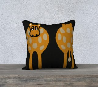 "Silly Cow Pillow Case 18"" x 18' preview"