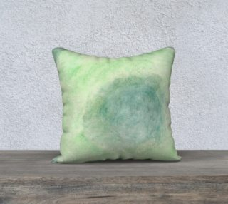 Green Dimension Flower Pillowcase Style1 preview