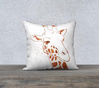 Aperçu de Giraffe Pillow