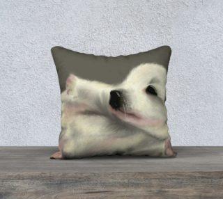 "Adorable Puppy Pillow Case 18"" x 18"" preview"
