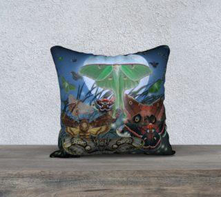 Aperçu de Luna Nocturne Small Pillowcase