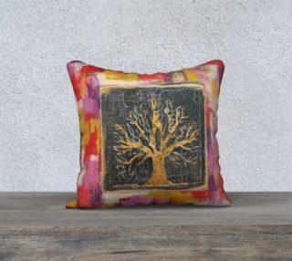 """Aperçu de Autumn Window - 18"""" Pillow"""