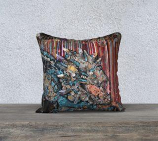 Aperçu de Steam Dragon 18X18 Pillow