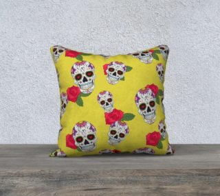 Sugar Skull Yellow preview
