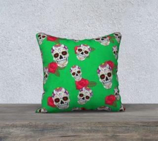 Aperçu de Sugar Skull Green