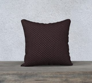 """18"""" Square Pillow Inspired by Affirmed preview"""