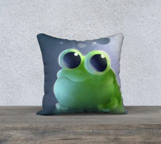 Pillow - Apple Frog preview