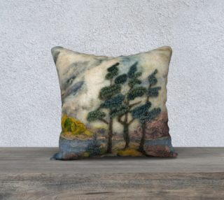 Aperçu de three sisters small pillow