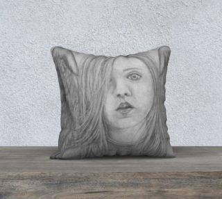 "Angel Eyes - 18"" Pillow Cover preview"