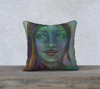 "Ninova the Mermaid - 18"" Pillow Cover preview"