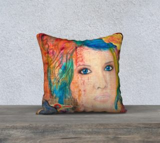 """Tousled - 18"""" Pillow Cover preview"""