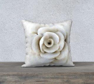 Aperçu de White Flower Pillow
