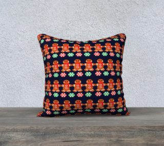 Gingerbread Man Pillow Cover preview
