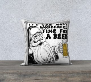 Time for Beer Pillow Cover preview