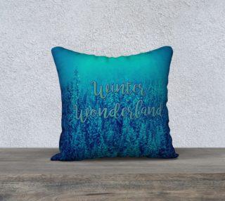 Aperçu de Winter Wonderland Pillow Cover