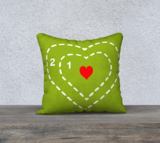 Grow Your Heart Pillow Cover preview