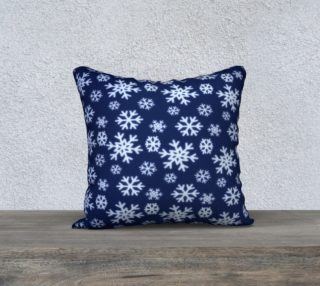 Snowflakes Pillow Cover preview