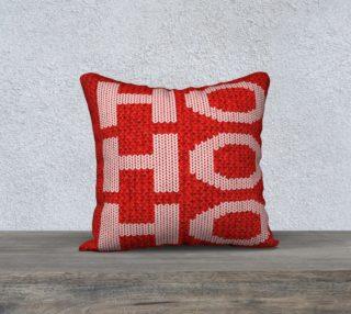 Aperçu de Ho Ho Ho Pillow Cover