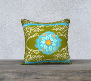 Flor 18 x 18 Pillow case only preview
