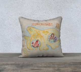 Aperçu de Neverland Peter Pan Pillow Case