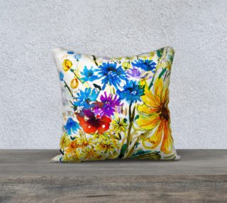 Wild Bouquet  cushion cover preview