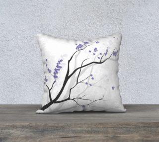 Jacaranda Love Pillow preview