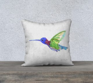 Hummingbird 2016 pillow preview