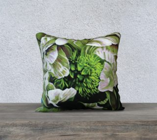 "Peony Ridin' Pillow-18""x18"" Pillow Case preview"