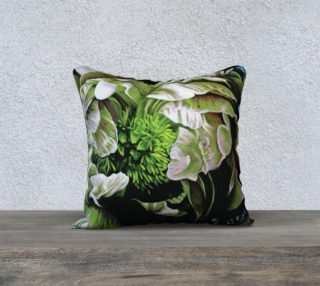"Peony Ridin' Pillow I-18""x18"" Pillow Case preview"
