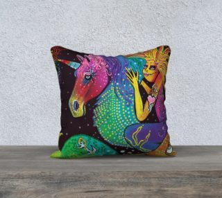 Ride The Rainbow Pillow Cover preview