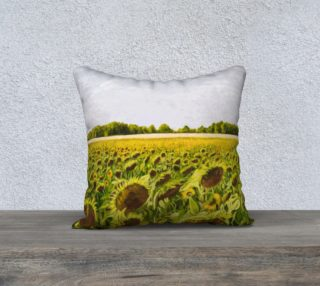 """Field of Dreams I-18""""x18"""" Pillow Case preview"""