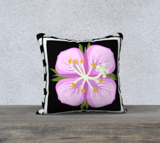 Fireweed 18 x 18 pillow case preview