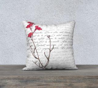 Aperçu de Le Printemps Springtime in Paris Pillow