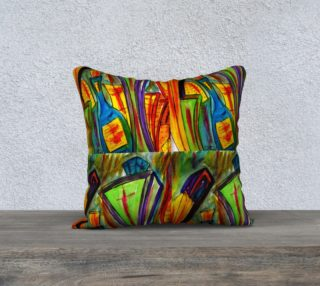 Whiskey City 2 pillow by Richard Cortez preview