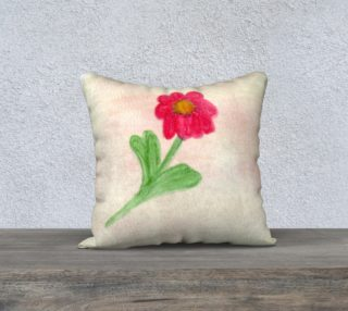 Red Daisy Pillow Case Style1 preview