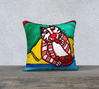 Tiger's Cookies Pillow by Richard Cortez preview