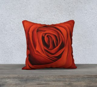 """Seeing Red-18""""x18"""" Pillow Case preview"""