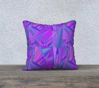 Aperçu de Geometric Abstract - Bright Purple, Blue