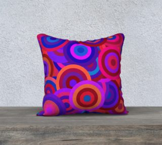 Aperçu de Bright Colorful Retro Circles