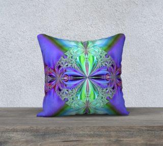 Aperçu de Fractal - Aqua, Purple